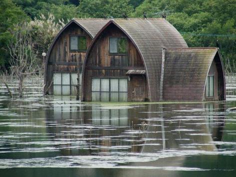 ¿Cómo hacer arquitectura resistente a inundaciones?