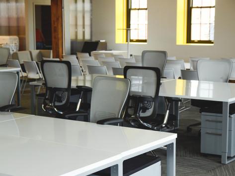 Abandono de oficinas en CDMX