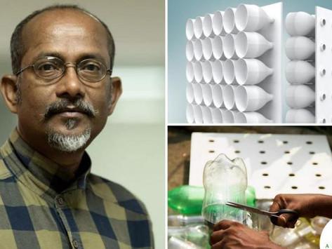 Joven inventó un aire acondicionado que funciona sin electricidad