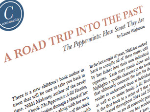 'Peppermints' announced in Community section of Wayne Magazine this March!