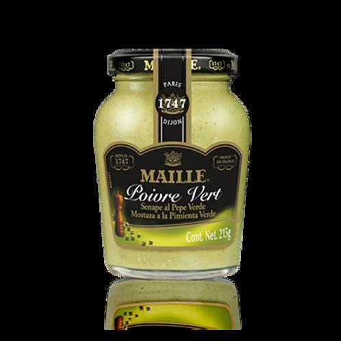 MAILLE SENAPE AL PEPE VERDE  -     GREEN PEPPER MUSTARD                 215GR
