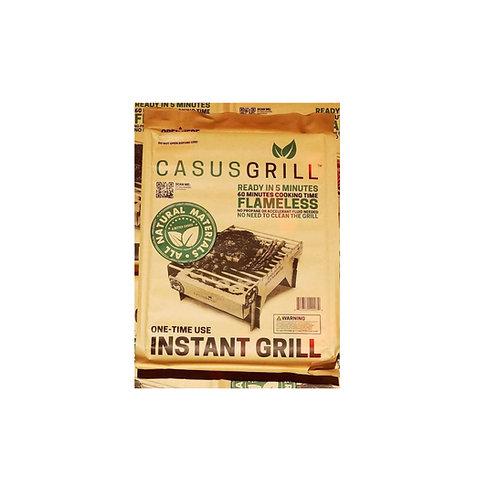 CasusGrill Single Use Biodegradable Mini Grill