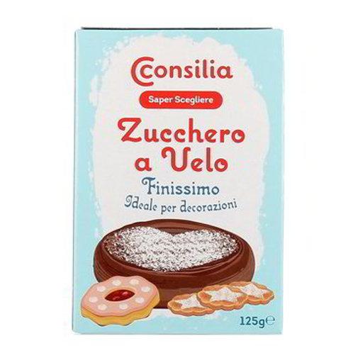 ZUCCHERO A VELO FINISSIMO / VERY FINE POWDER SUGAR  CONSILIA        125GR