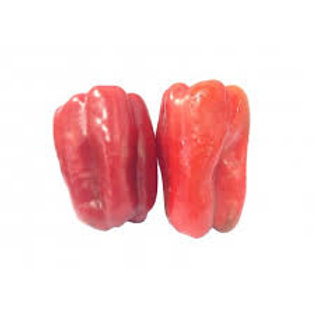 Pre-order: RED PEPPERS               2PC(600GR APPROX.)