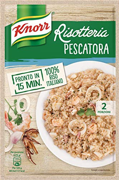 RISOTTO PESCATORA(SEAFOOD)  KNORR 175 GR