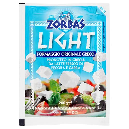 ZORBAS  FETA CHEESE LIGHT                  200GR