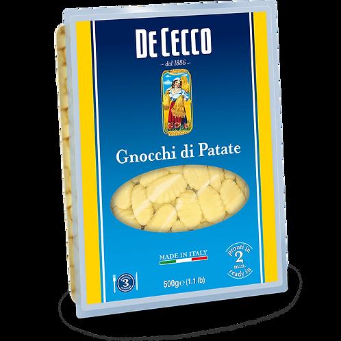 DE CECCO PASTA POTATO GNOCCHI 500 GR