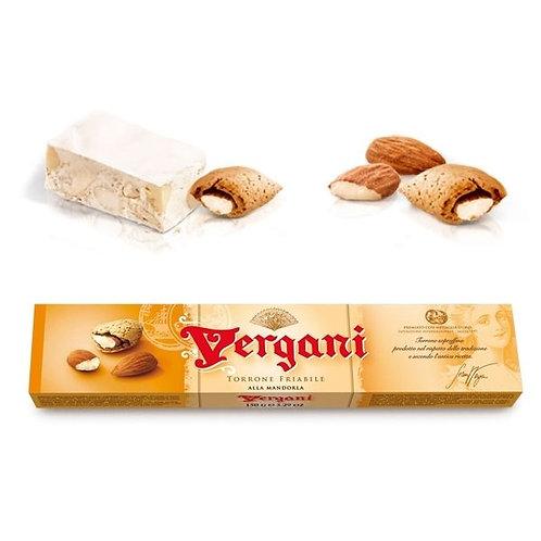 Vergani Torrone Friabile / Crunchy Italian Nougat       150GR