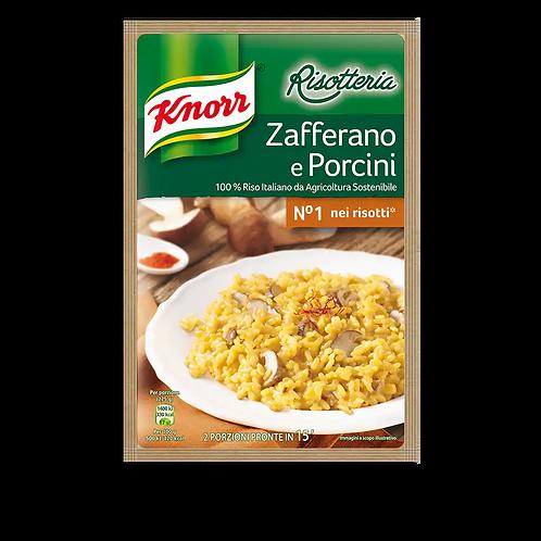 RISOTTO PORCINI/ZAFFERANO KNORR 175 GR