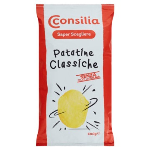 CONSILIA  CLASSIC CHIPS      (WITHOUT PALM OILS)            300GR