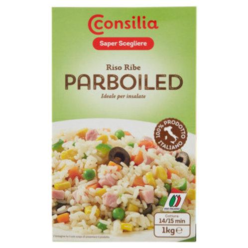 CONSILIA RISO RIBE PARBOILED - RIBE PARBOILED RICE                     1KG