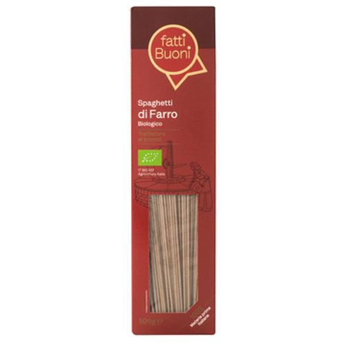 fatti Buoni Spelt Wholegrain Spaghetti         500GR