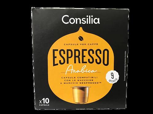 CAPSULE NESPRESSO CONSILIA 100% ARABICA  0.055 X 10