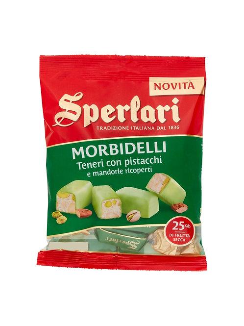 Sperlari Sperlari Torroncini Morbidelli Teneri Pistacchi e Mandorle        117 g