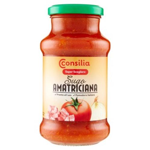 AMATRICIANA  TOMATO SAUCE CONSILIA                 400GR