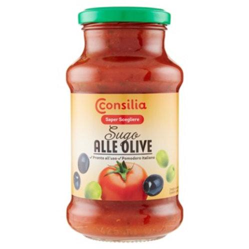 OLIVES TOMATO SAUCE CONSILIA                400G