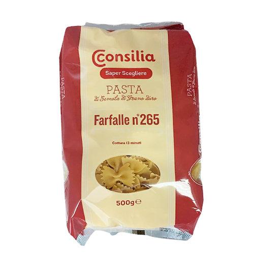 Farfalle durum wheat semolina pasta n ° 265           500 g