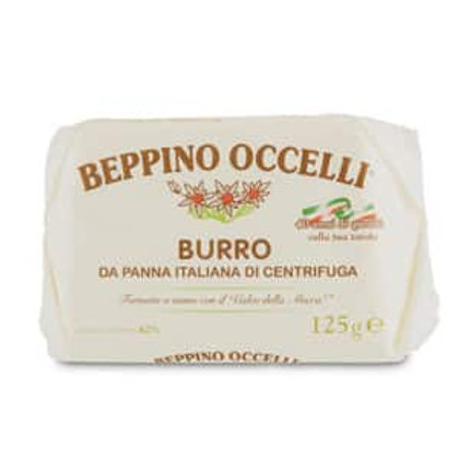 Italian Beppino Occelli Butter                   125gr