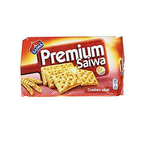 PREMIUM SALTED CRACKERS SAIWA                 315GR