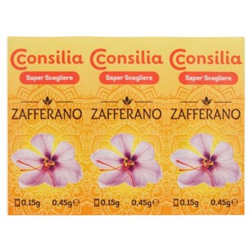 CONSILIA ZAFFERANO - SAFFRON                3 X 0,15GR