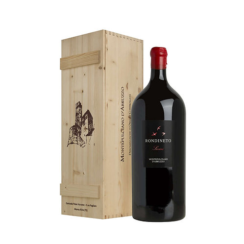 Impériale Magnum 6 Liters Montepulciano d'Abruzzo In Wooden Box Fattoria Giusepp