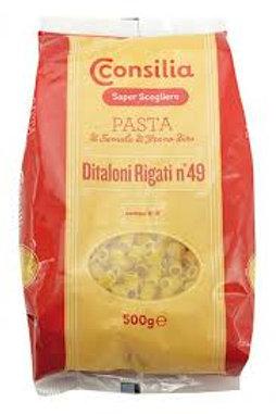 DITALONI PASTA NR 49  CONSILIA                                           500GR