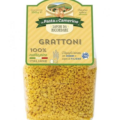GRATTONI EGG PASTA CAMERINO                       250GR