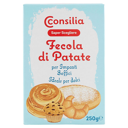 FECOLA DI PATATE CONSILIA / POTATO STARCH CONSILIA                       250GR