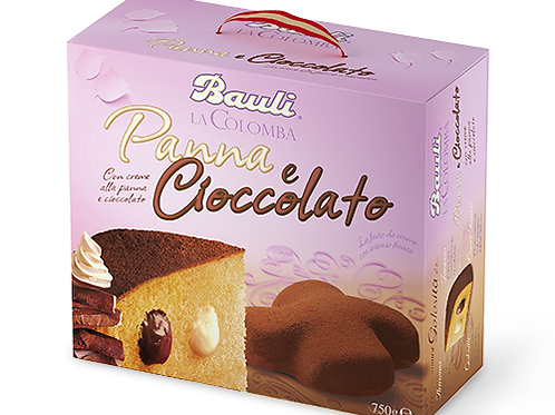 COLOMBA PANNA & CIOCCOLATO  BAULI              750GR