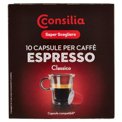 CAPSULE NESPRESSO CONSILIA CLASSICO  0.055 X 10