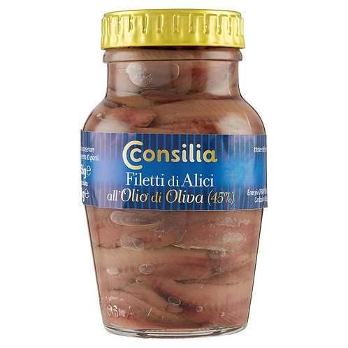 ANCHOVY FILETS CONSILIA    156GR