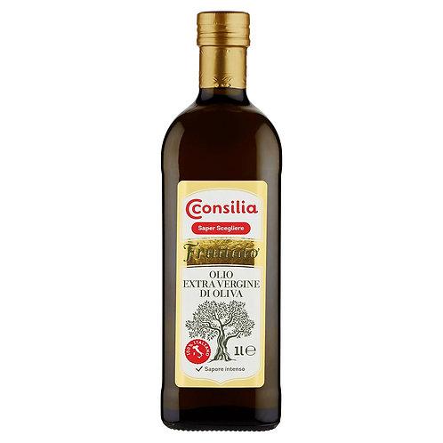 EXTRAVIRGIN OLIVE OIL 100% ITALIAN FRUITY - CONSILIA
