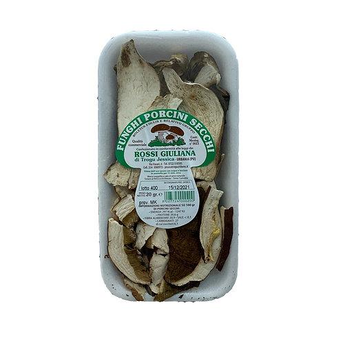 Dried Porcini Mushrooms       20GR