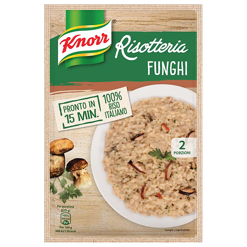 RISOTTO AI FUNGHI KNORR 175 GR