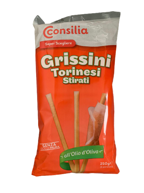 Consilia Breadsticks- Grissini Torinesi             250GR