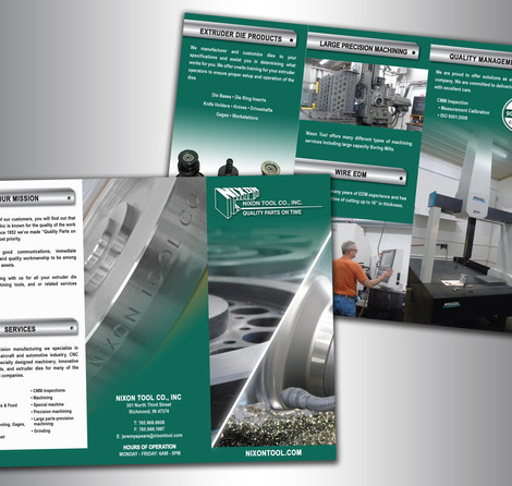 Nixon Tool Co, Inc - Brochure