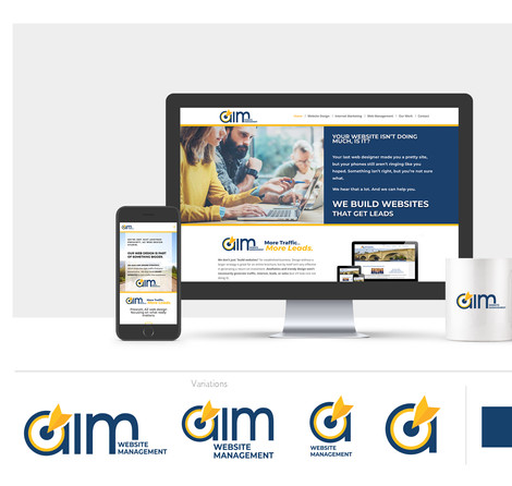 AIMaz Website Management - Brand refresh