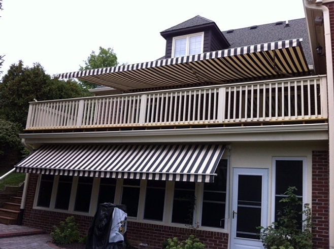 Retractable Awning - Soffit Mount   Indianapolis, IN ...