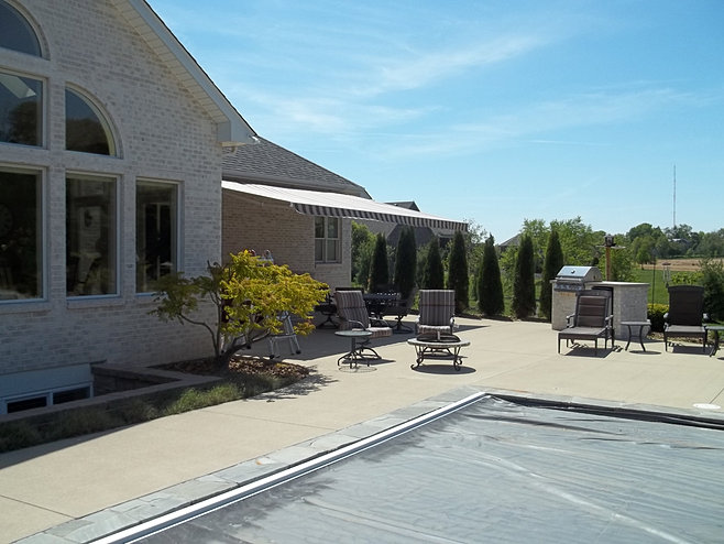 Retractable Awning - Soffit Mount | Indianapolis, IN ...