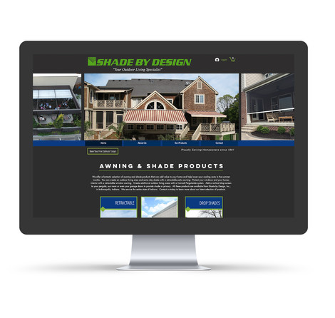 Shade By Design, Inc - Website design