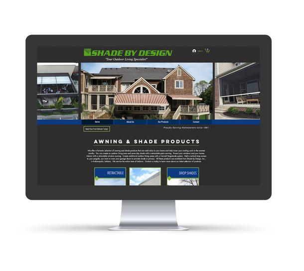 Shade By Design, Inc - Website design