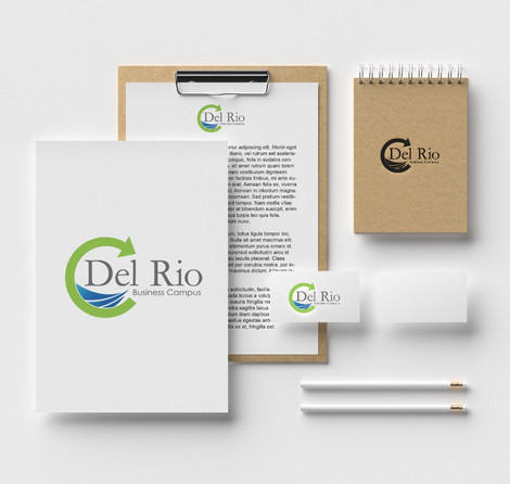 Del Rio Business Campus - Logo design