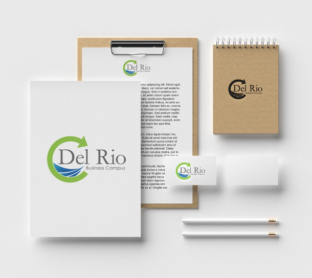 Del Rio Business Campus - Logo design