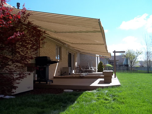 "Retractable Awning (16'6"" to 18'W)"
