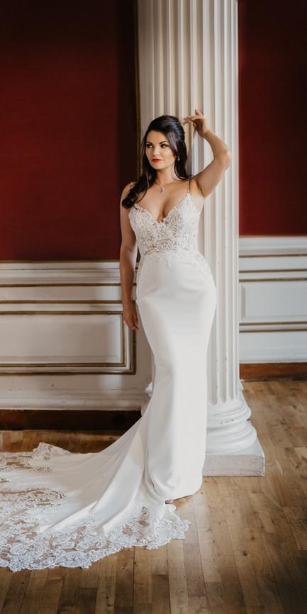 Bright and beautiful bridal