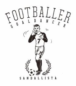 FOOTBALLER GOALDANCER
