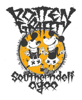 十周年記念コラボTシャツ第二弾!ROTTENGRAFFTY & southerndeli agoo