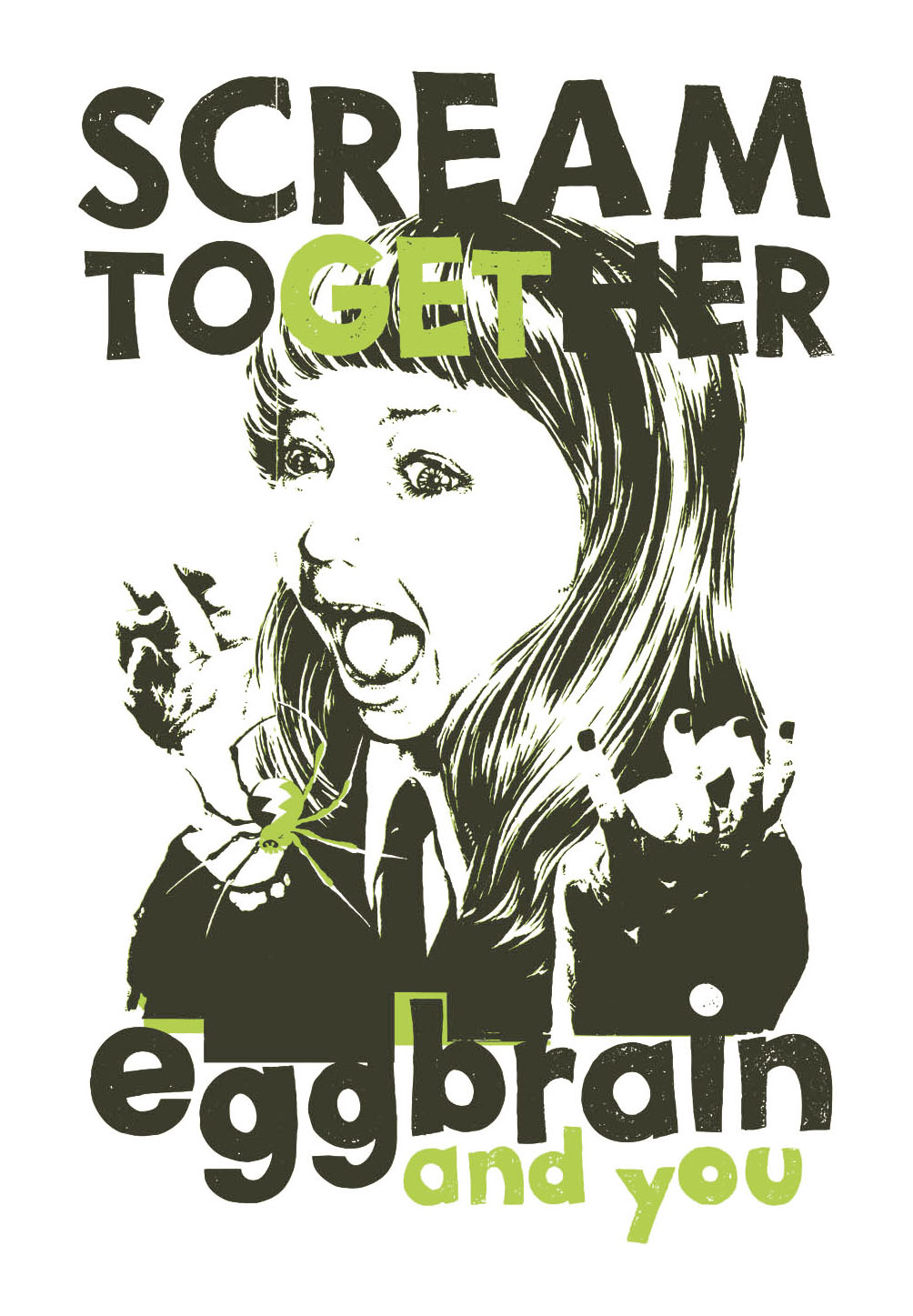 EGG BRAIN / SCREAM GIRL