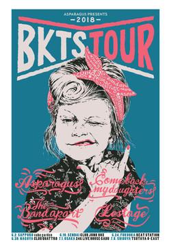 BKTS TOUR 2018 POSTER