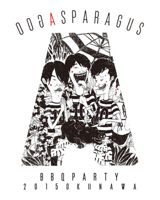 十周年記念コラボTシャツ第一弾!ASPARAGUS & southerndeli agoo